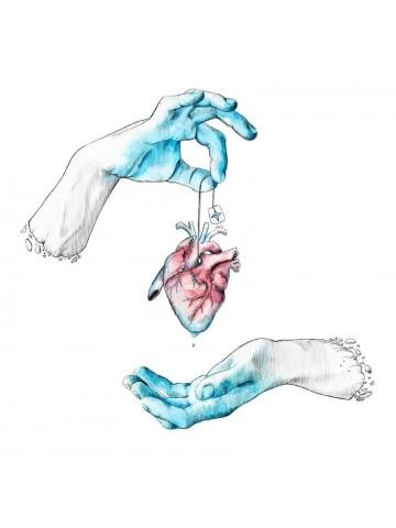 Lámina Cold Hands, warm heart - Javier Rubín