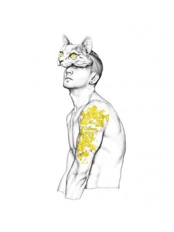 Lámina Mr. Catbantry - Javier Rubín