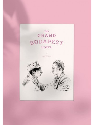 Lámina The Grand Budapest Hotel - Belén Diz