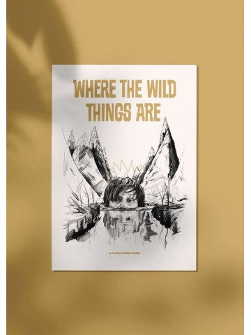 Lámina Where the wild things are - Belén Diz