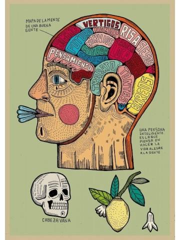 Lámina Mapa de la mente de la buena gente - Asis Percales