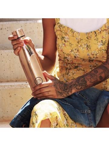 Botella térmica Chrome Rose