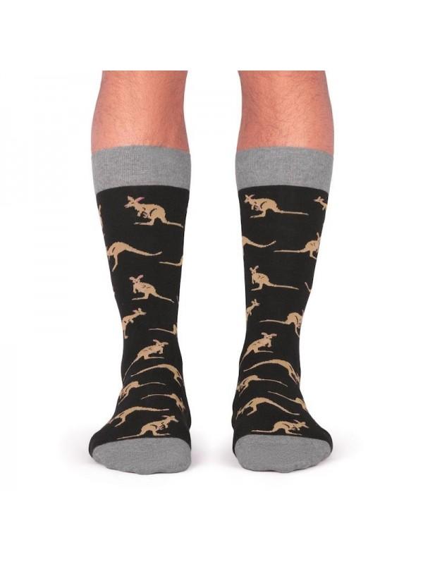 Calcetines Kangaroo black- Jimmy Lion