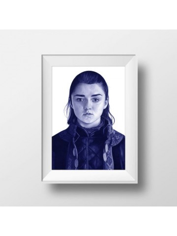 Lámina Arya Stark - Belén Diz