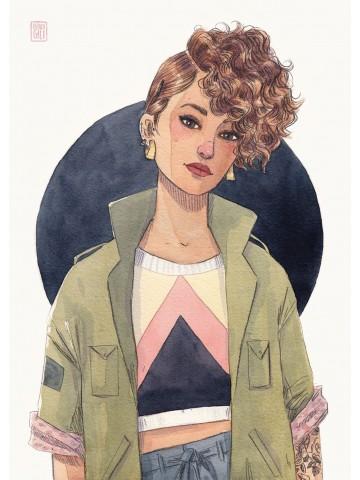 Lámina Vega - Esther Gili