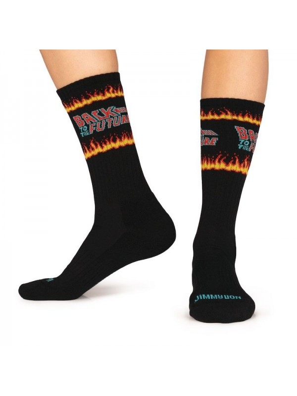 Calcetines Back to the Future Fire Black - Jimmy Lion