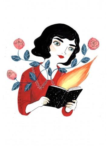 Lámina Lectora - María Hesse
