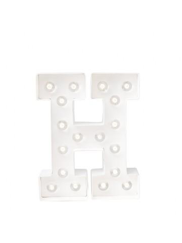 H - Letra Luminosa Marquee Love