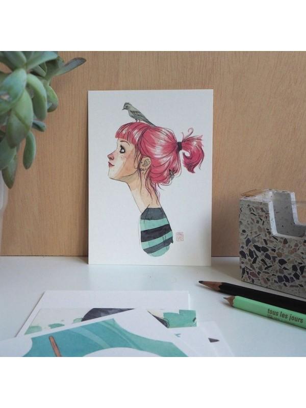 Pack postales Rojo - Esther Gili