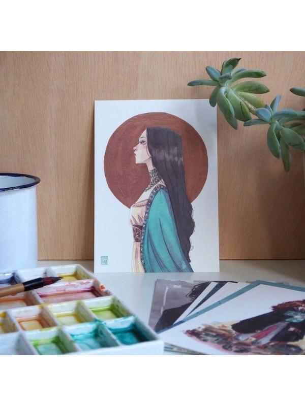 Pack postales Negro - Esther Gili