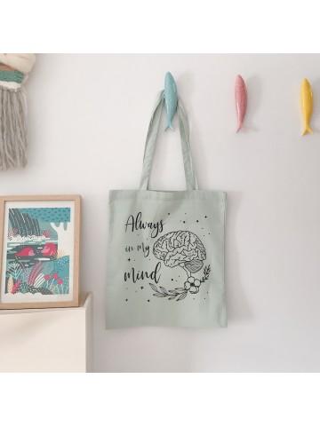 Tote bag Always in my mind