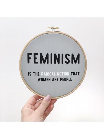 Bastidor Feminism