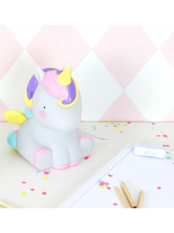 Lámpara de mesa Unicornio