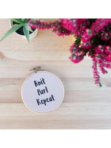 Bastidor Knit Purl Repeat