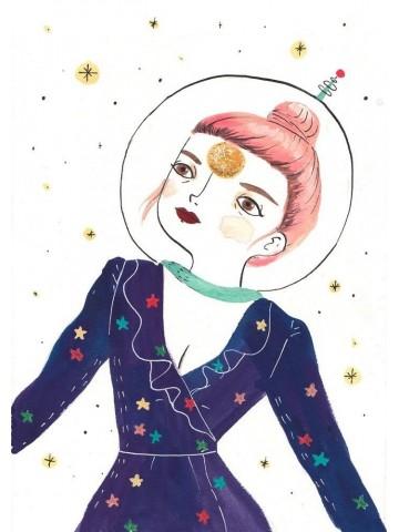 Lámina Cosmic Girl