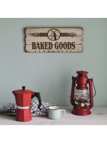 Cuadro vintage Baked Goods
