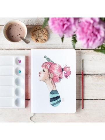 Cuaderno Pájaros en la cabeza