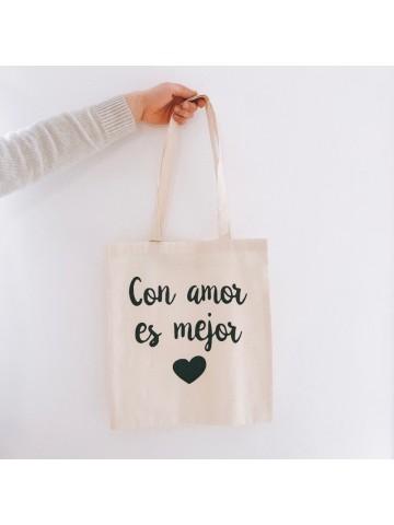 Bolsa Con amor es mejor