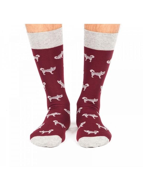 Calcetines Huskies rojo- Jimmy Lion