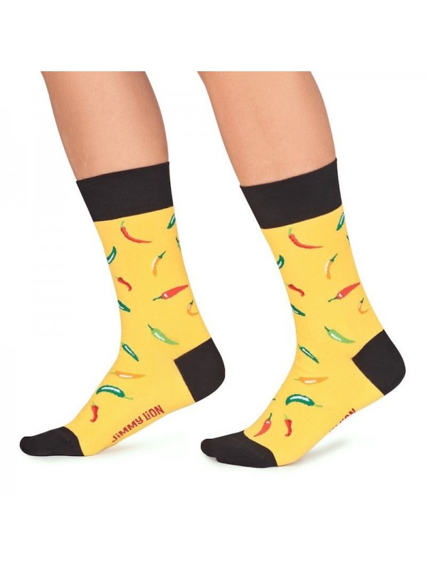 Calcetines Chillies yellow  Jimmy Lion