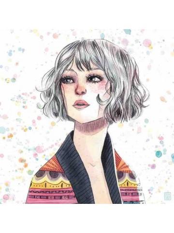 Lámina Iris - Esther Gili
