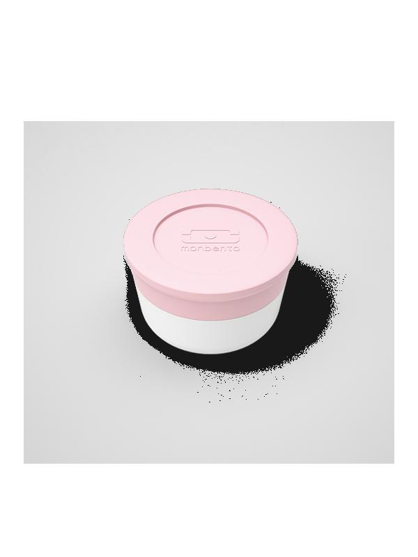 Recipiente para salsas rosa