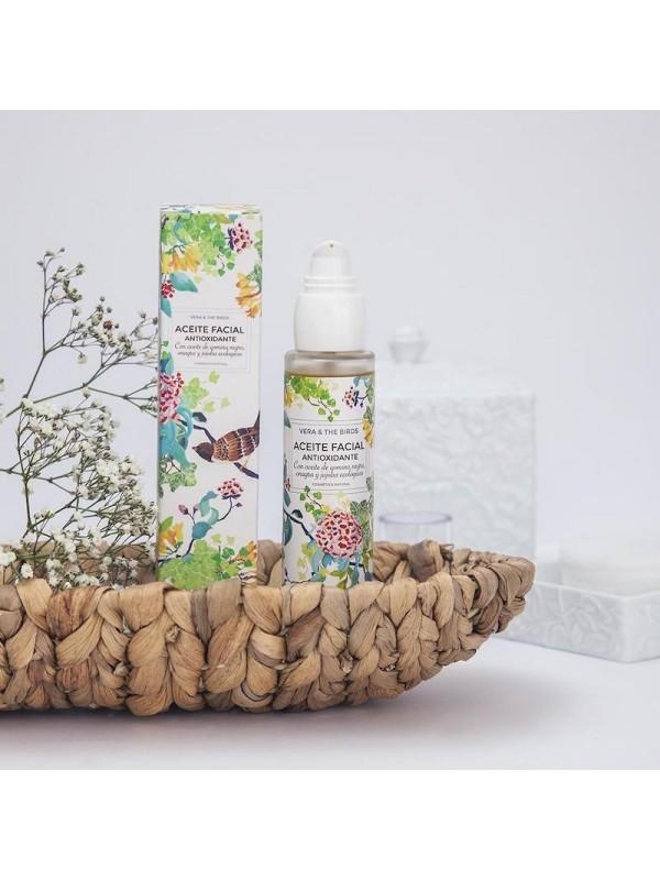 Aceite facial antioxidante - Vera & the birds