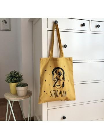 Tote bag Starman