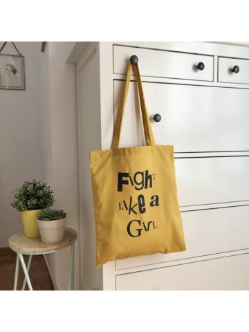 Tote bag Fight like a girl