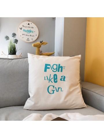 Cojín Fight like a girl
