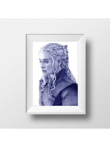 Lámina Daenerys Targaryen - Belén Diz